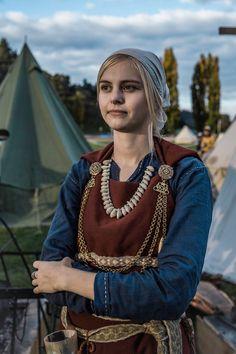 Viking Garb, Viking Dress, Viking Costume, Celtic Clothing, Medieval Clothing, Iron Age, Historical Costume, Historical Clothing, Larp