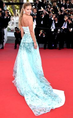 Nina Agdal from Stars at the 2015 Cannes Film Festival | E! Online