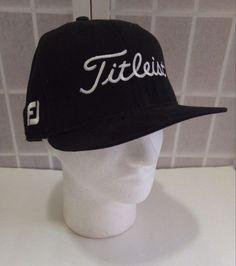 Titleist FJ Footjoy Hat New Era 59 Fifty Cap Size 7 1/2 Brushed Wool 1997 #NewEra #GolfHat #Titleist #FJ #Footjoy #Golf #PGA #LYLACS4U  http://stores.ebay.com/LYLACS-4U?_rdc=1