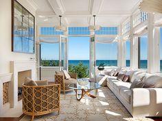 Coastal Decor. This room makes me miss summer! #CoastalDecor