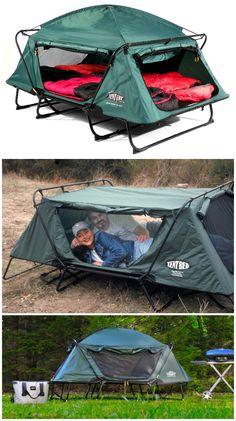 """The Kamp Rite CTC Double is a two person version of the Kamp Rite CTC. Sets up easily and quickly, and eliminates sleeping on damp or rocky ground while providing protection from insects and other annoying outdoor pests. <a class=""""pintag searchlink"""" data-query=""""%23affiliate"""" data-type=""""hashtag"""" href=""""/search/?q=%23affiliate&rs=hashtag"""" rel=""""nofollow"""" title=""""#affiliate search Pinterest"""">#affiliate</a>"""