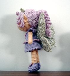 Week in a Fairy Land fairy doll pattern for free