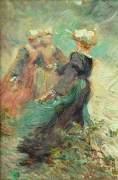 """JEAN BERTRAND PÉGOT-OGIER (1877-1915) """"Danse bretonne"""""""