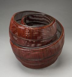 japanese bamboo baskets | Masters of Bamboo: Japanese baskets and sculpture in the Cotsen ...