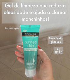 Skin Care Spa, Face Skin Care, Neutrogena, Beauty Skin, Health And Beauty, Clear Skin Fast, Easy Hairstyles For Long Hair, Skin Routine, Best Beauty Tips