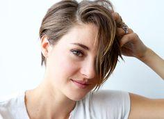 10 maneiras de usar o corte pixie com Shailene Woodley   Chic - Gloria Kalil: Moda, Beleza, Cultura e Comportamento