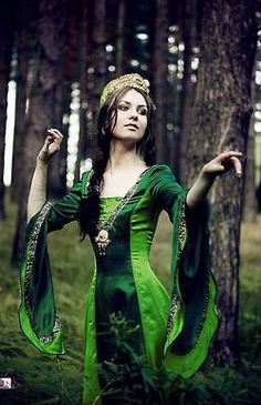 Gowns Pagan Wicca Witch:  Forest Maiden #gown.