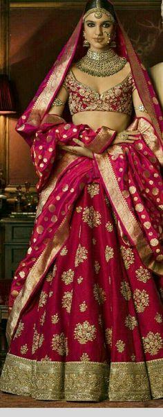 Top 15 Designer Bridal Lehenga for Wedding - Fashion Girls Designer Bridal Lehenga, Wedding Lehnga, Indian Bridal Lehenga, Indian Bridal Outfits, Indian Bridal Wear, Bridal Lehenga Choli, Indian Dresses, Bridal Dresses, Dress Wedding