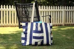 Put Up Your Dukes: big mommy giant beach bag tutorial