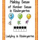Making Sense of Number Sense in Kindergarten in a fun and engaging way for students to see numbers in many different combinations and variety. Bing...