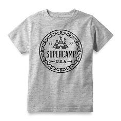 Supercamp Tee Pee - Boy's Tee