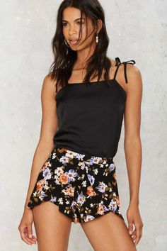 Lila Layered Shorts - The Eclectics