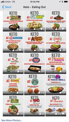 What to eat keto at