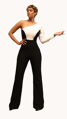 Tyra Banks: Look of the Day Jumpsuit: Bryan Hearns