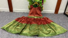 Price Rs 750 + Shipping extra WE ARE LAUNCHING NEW KIDS TRADITIONAL CROP TOP LEHENGA OUTFIT FOR SPECIAL OCCASIONS Kids Crop-Top Lehenga Details Fabric: LICHI SILK Inner:- SILK Size Years:- 2 TO 4 Chest Size: 24 INCHES Length:- 21 INCHES Years:- 5 TO 7 Chest Size: 28 INCHES Length:- 25 INCHES BE AWARE WITH LOW QUALITY COPY ITEMS Crop Tops For Kids, Girls Crop Tops, Special Occasion Outfits, Lehenga Designs, New Kids, Girls Wear, Lehenga Choli, Girls Shopping, Tie Dye Skirt