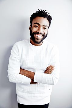 "Donald Glover // Childish Gambino [delevingned: "" Donald Glover of 'The Martian' poses for a portrait during the 2015 Toronto Film Festival on September 2015 in Toronto, Ontario. Donald Glover, Gorgeous Men, Beautiful People, Beautiful Smile, Beautiful Celebrities, Headshot Poses, Corporate Portrait, Men Photoshoot, Childish Gambino"