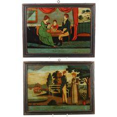 Antique Glass, Antique Art, Antique Bedroom Furniture, Objet D'art, Online Painting, Georgian, Regency, 19th Century, Victorian
