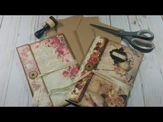Mistakes made and included. 😂 Part Making an Envelope Journal; Folio Sorry for the. Small Journal, Book Journal, Journal Covers, Notebook Covers, Bookbinding Tutorial, Art Journal Tutorial, How To Make An Envelope, Glue Book, Mini Scrapbook Albums