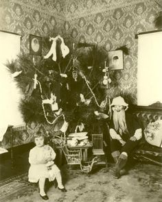 """""""My mother, Clyde Russell Finn at Christmas abt 1910"""" Submitted by Christina Hunt"""