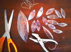 Cut from soda bottles, you can make so many things with these.