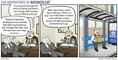 Business Cat - Numbers