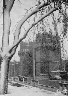 Nieve en las Torres de Serranos (1960)