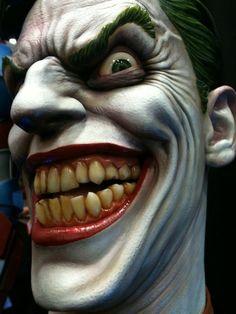 ~ The Joker. Joker Pics, Joker Art, Joker Comic, Wall Stickers Gaming, Filigree Tattoo, Joker And Harley Quinn, Photo Journal, Sideshow Collectibles, A Comics
