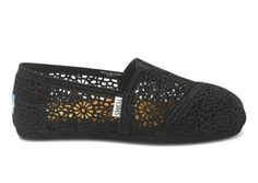 Need me some Toms! plus  TOMS Shoes, a company that would match every pair of shoes purchased with a pair of new shoes given to a child in need. One for One.