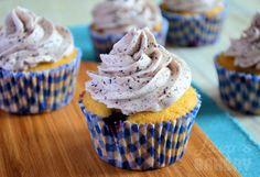 Bosbessen cupcakes - Laura's Bakery