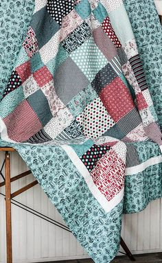 Boat House Twin Size Quilt The Boathouse by CottonBerryQuilts