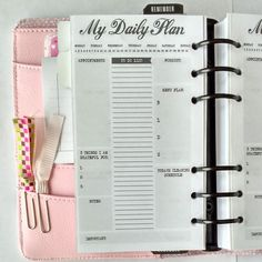 Apps and other methods to help you organize yourself! Choose one or two, not all of them!