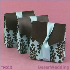 Uso del bolso 120pcs del caramelo de la boda del Flourish como la caja Wedding y venta al por mayor Wedding TH013 del davor del recuerdo de Gift_Wedding
