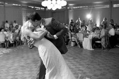 Emily + David Spring Wedding | 1st Dance Dip | @katepease Photography