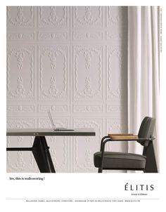 Wallcovering: Perfecto - Chance collection    http://www.elitis.fr/en/revetements-muraux/