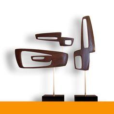 Danish Modern Art Sculpture Eames Era Tiki 60s Retro Mid Century Sputnik Mod 50s