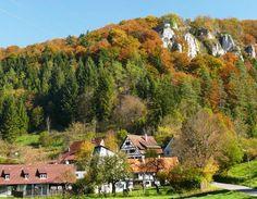 A Münsinger Gundelfingen kerületben a Nagy Lautertal.
