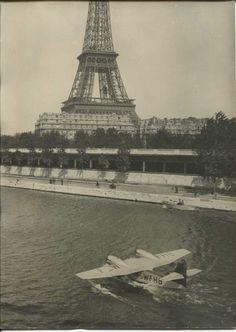 Un hydravion sur la Seine !...oui mais en 1949... !