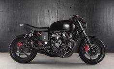 1996 Honda CB750 Nighthawk 'Black Belt' - Reborn Custom Motorcycle - The Bike Shed