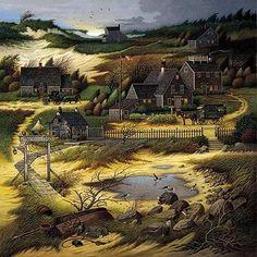 Charles Wysocki  Artwork