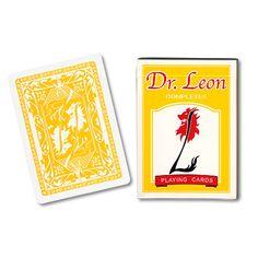 Cards Dr. Leon Deck (Yellow) by Hiro Sakai - USPCC