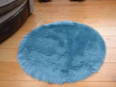 With a soft fluffy pile, these washable duck egg faux fur sheepskin circular rugs have a non slip backing, allowing for them to be placed on multiple surfaces throughout the home. Circular Rugs, Machine Washable Rugs, Round Rugs, Wooden Flooring, Shag Rug, Latex, Faux Fur, Colours, Home Decor