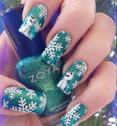 166 Best Nails Christmas Images In 2018 Nail Art Designs Nails