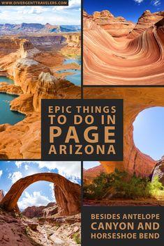 Arizona Road Trip, Arizona Travel, Page Arizona, Grand Canyon Vacation, Grand Canyon Trips, Grand Canyon Camping, Places To Travel, Places To Go, Travel Things