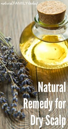 Natural Remedy for Dry Scalp #natural #remedy