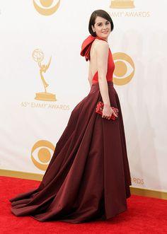 Michelle Dockery - Prada Michelle Dockery, Hollywood Red Carpet, Red Carpet Looks, Red Carpet Ready, Dress Picture, Red Carpet Dresses, Red Carpet Fashion, Nice Dresses, Dresses 2013
