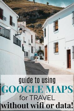 How to Never Get Lost Traveling With Google Maps Offline   The Google Maps app is a total travel hack that is going to make your trip so much easier! This guide teaches you how to use the Google Maps app even without wifi or data! Google Maps is a must-have travel app! #traveltips #travelhacks #travel Travel Info, Travel Advice, Travel Tips, Travel Destinations, Google Maps App, Travel Europe Cheap, Travel Must Haves, Road Trip Essentials, Travel Goals
