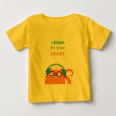 Cat Hipster Music Glasses Bright Modern Funny Cool Baby T-Shirt - modern gifts cyo gift ideas personalize