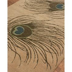@Overstock.com - nuLOOM Handmade Handspun Peacock Wool Rug (5' x 8') - This handmade wool area rug uses subtle and modern colors to match today?s interiors. The plush wool pile offers great comfort under foot.  http://www.overstock.com/Home-Garden/nuLOOM-Handmade-Handspun-Peacock-Wool-Rug-5-x-8/6030938/product.html?CID=214117 $186.78