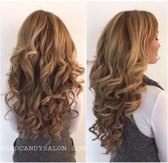 Tape Hair Extensions #hairextensions #tapeextensions #tapehair #torontohairextensions #torontosalon #longhair #headcandy