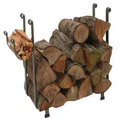 Large Rectangular Indoor Firewood Rack